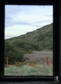 Detrás de la ventana