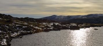 Vista parcial de la Laguna Grande